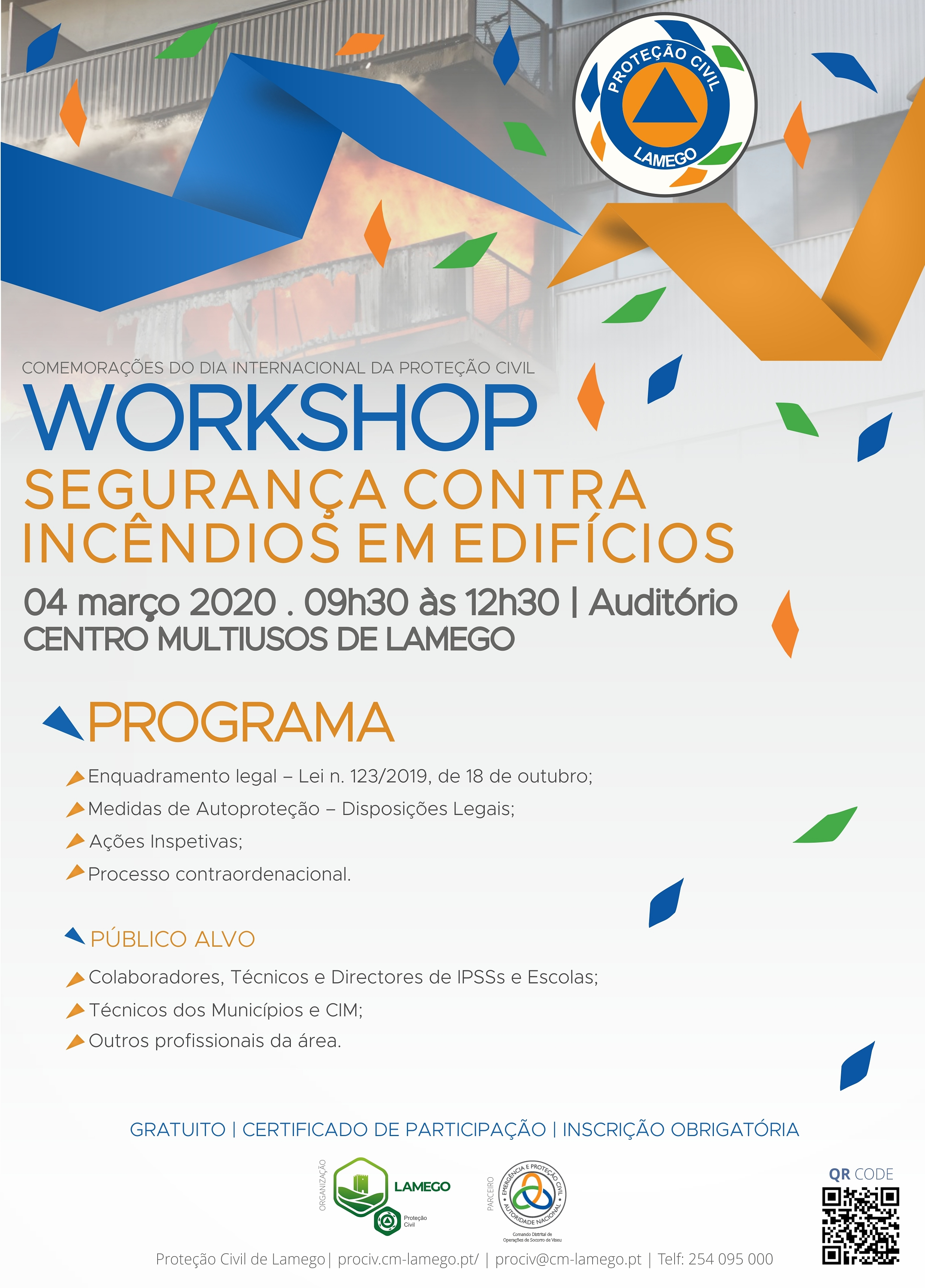 Cartaz SCIE workshop